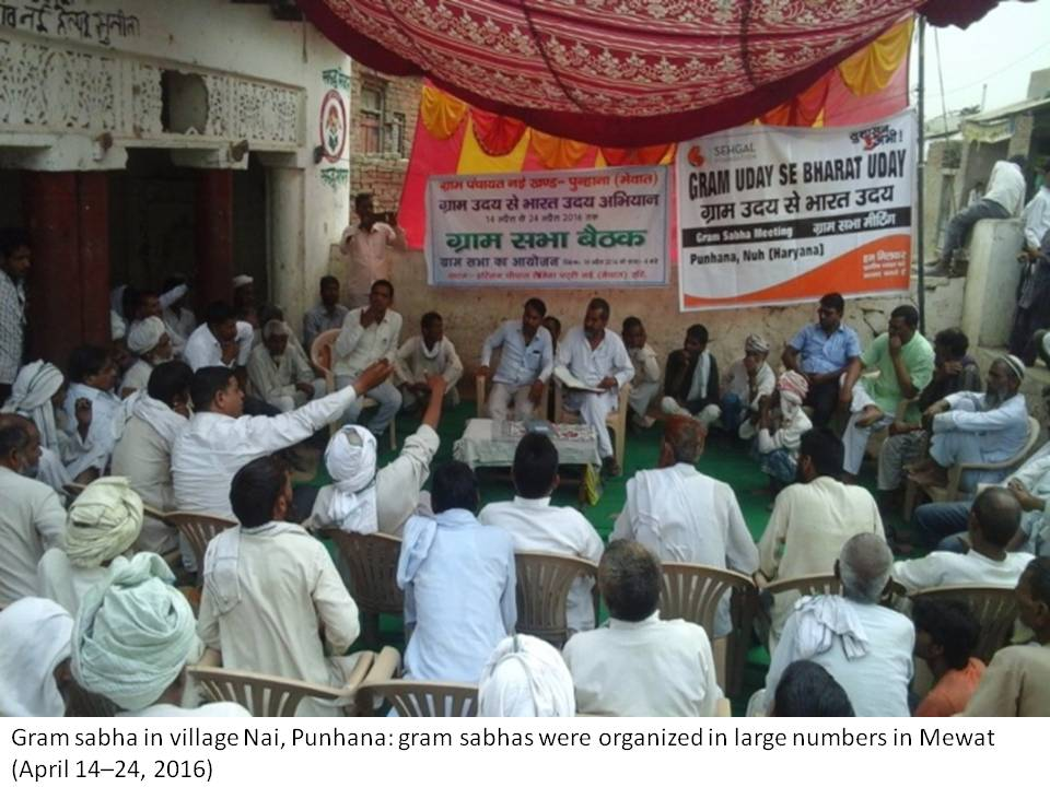 Villagers witness gram sabha for the first time in their lives