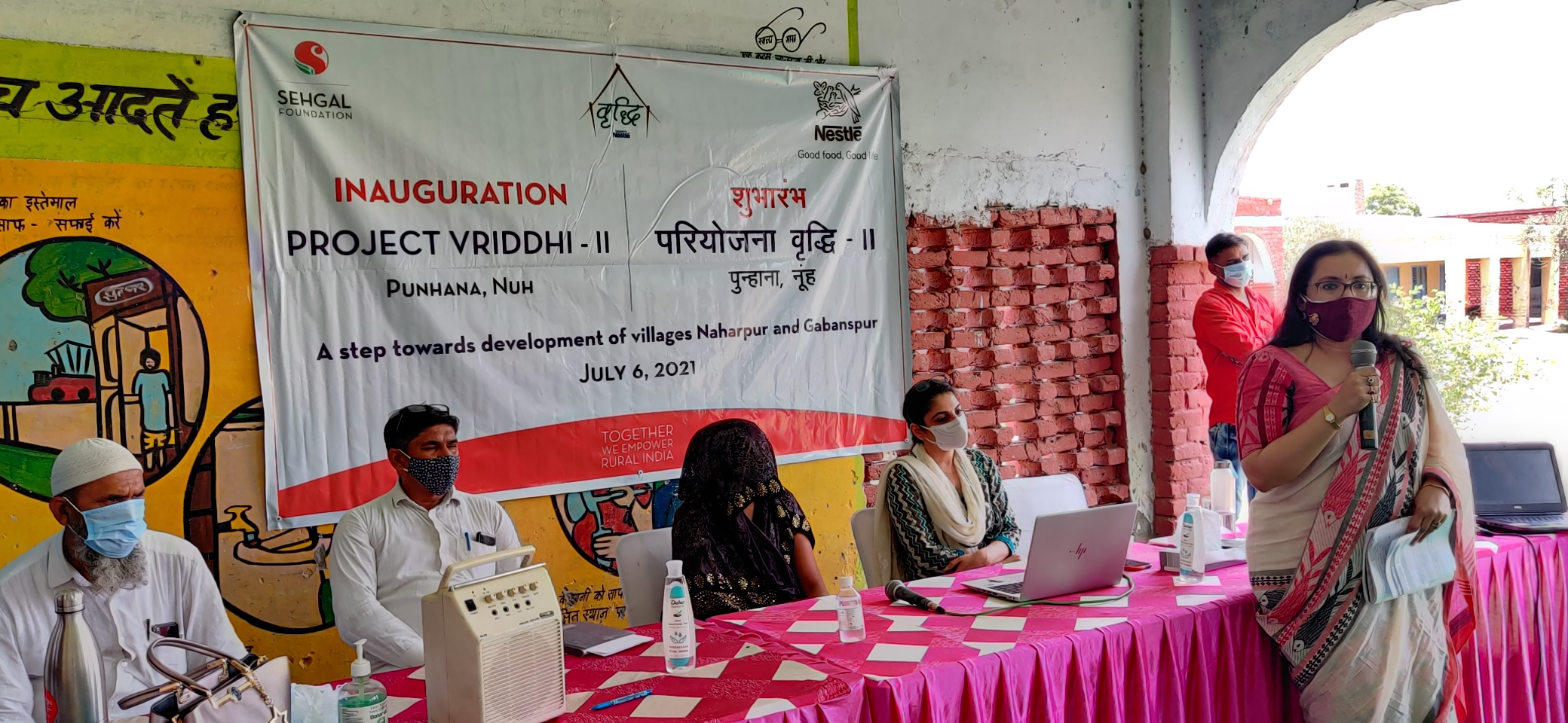 Nestle and S M Sehgal Foundation launch Project Vrisshi 2.0